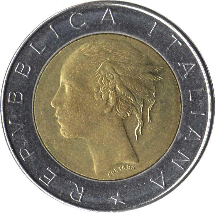 500 lires d'Italie
